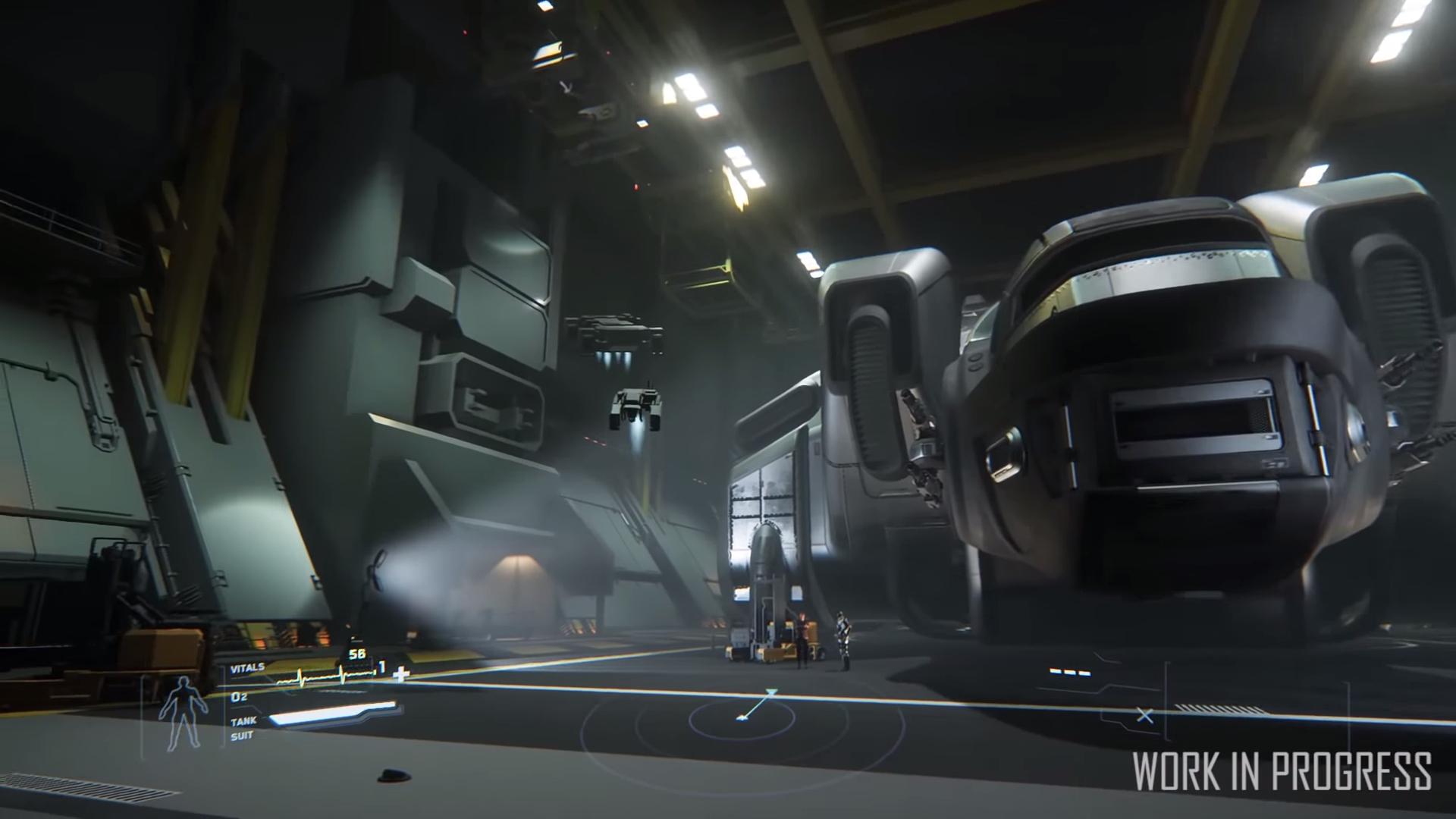 Hangar Gameplay