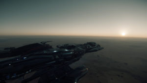 Early Morning Ride on Daymar