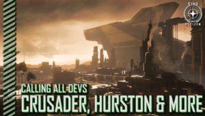 StarCitizenBase CaD Crusader Hurston And More