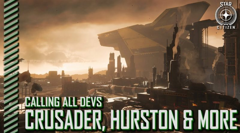 StarCitizenBase CaD Crusader Hurston And More