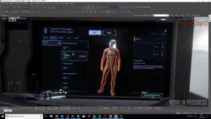 StarCitizenBase Kiosksystem Mit Character Animation