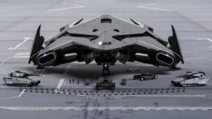 StarCitizenBase ShipShape Concept Hercules Starlifter Action4