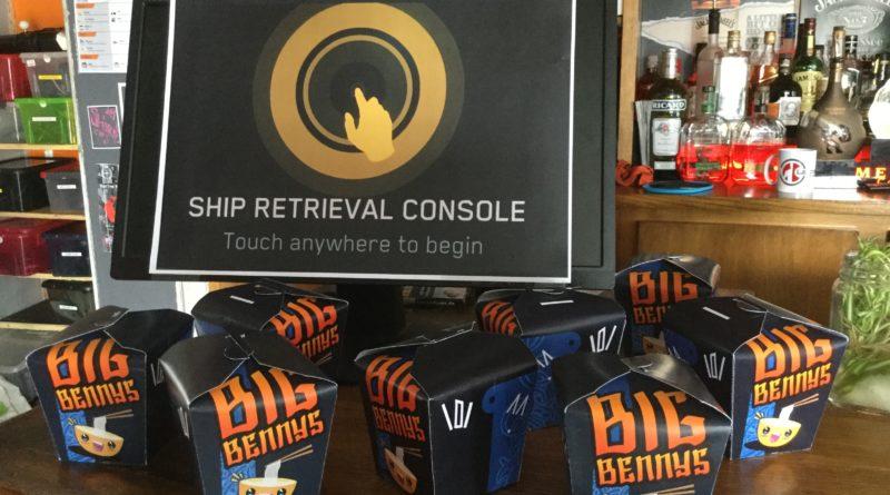 Ship Console at Big Bennys