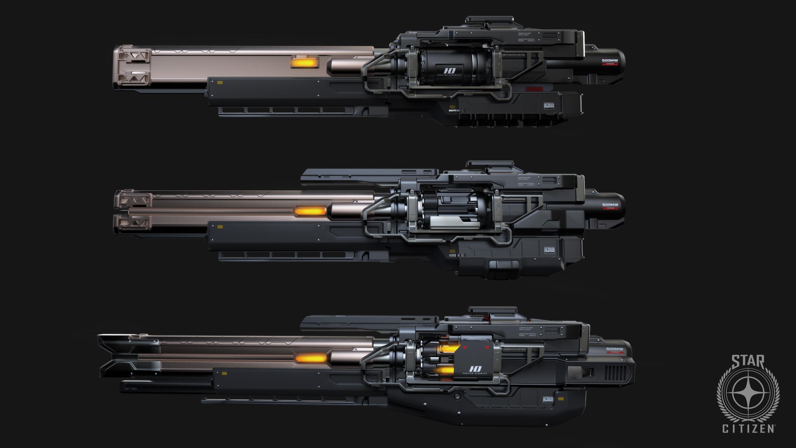 StarCitizen SneakPeek Weapons