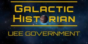 Galactic Historian: UEE