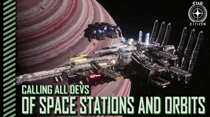 CaD Space Stations And Orbits