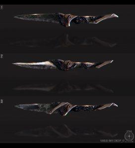 Vanduul Knife