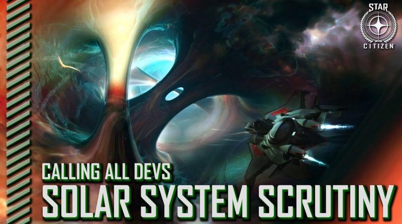 CaD Solar System Scrunity
