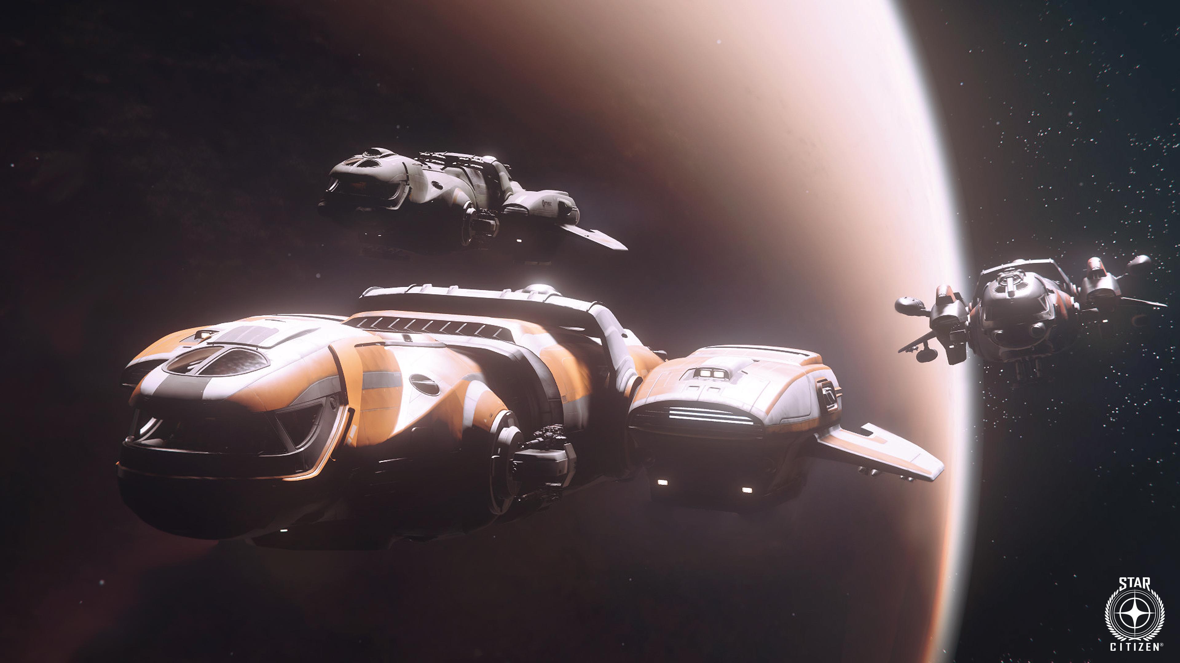 CloudImperiumGames StarCitizen Freelancer Trio SpaceShot