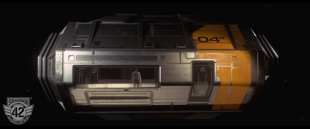 Cloud Imperium Games Tram Exterior TM 2429