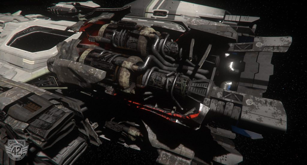 Cloud Imperium Games Truster Damage TM 2 2430