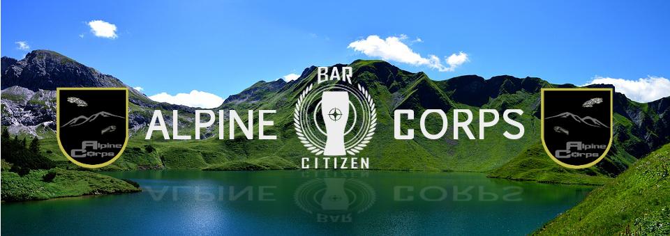 Alpine Corps Bar Citizen 3114
