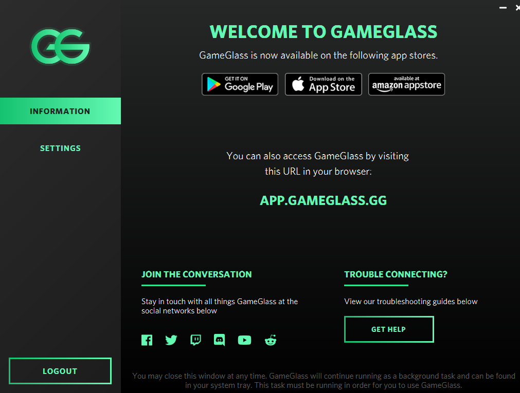 GameGlass Client 3048