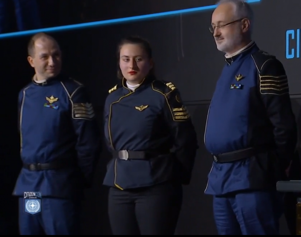Cosplay Navy Officers 4078