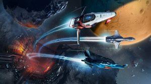 Asteroid Racing Artwork