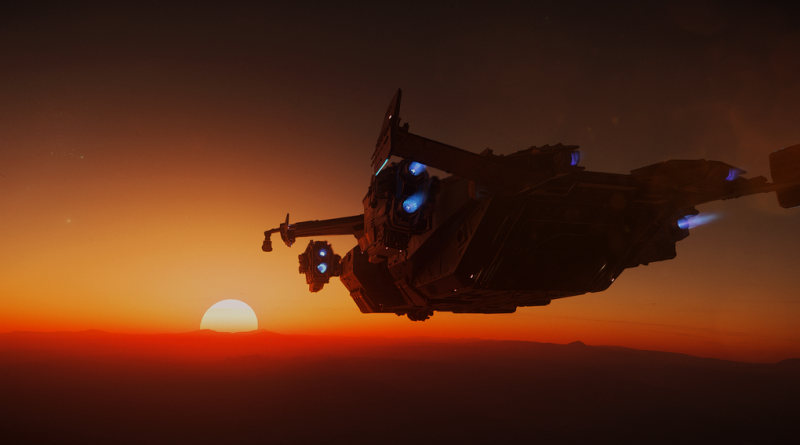 Valkyrie Sunset I