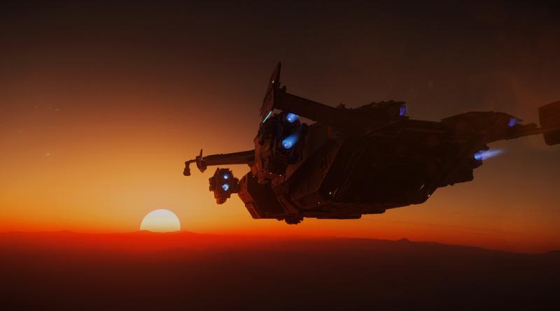 Valkyrie Sunset I