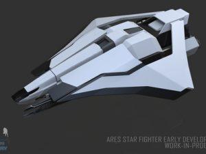 Ares Star Fighter Wip 009 Kopie 4506