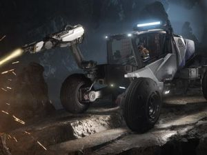 Roc Mining Vehicle 6201