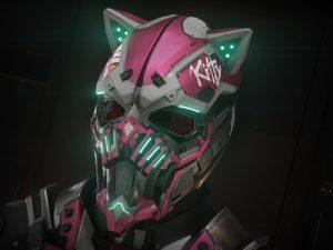 StarKitty Pink Helmet 8079
