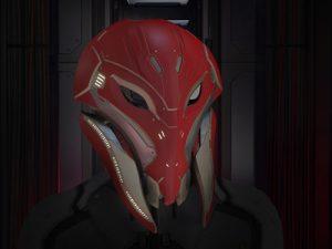 SKU Mandible Helmet Firestrike 01 8434