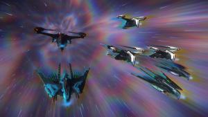 Alien Schiffe